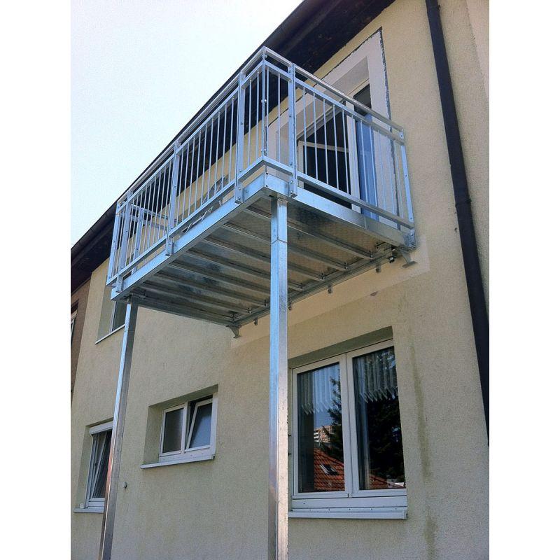 balkonanlage balkon stahlbalkon 2 00m 1 50m stahl balkonanlagen se kunst und bauschlosserei. Black Bedroom Furniture Sets. Home Design Ideas