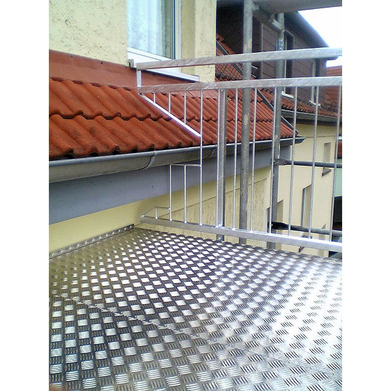 Berühmt Geländer Brüstungsgeländer verzinkt f Balkon Terasse, | Kunst- und PB29