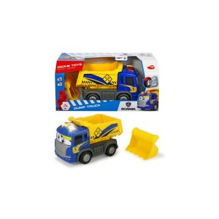 Happy Scania Kipper Dump Truck Auto Car Licht Sound fährt 25cm